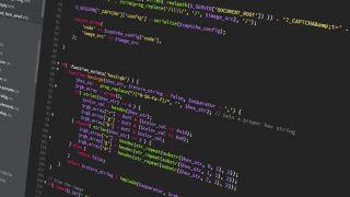 プログラミング/コーディング画面