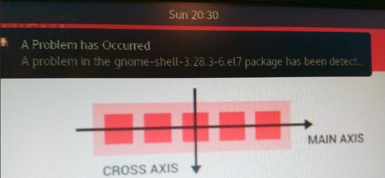 CentOS 7、故障して永遠にリスタート